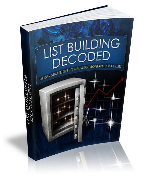 List Building Decoded (MRR)