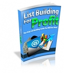 List Building For Profit (MRR)