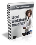 Local Workshops Made Easy PLR Newsletter (PLR/MRR)