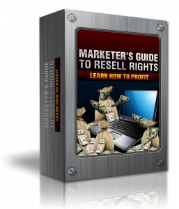 Marketers Guide To Resell Rights (MRR)