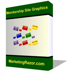 Membership Site Graphics Pack - Software (MRR)