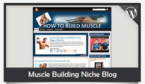 Muscle Building Niche Blog Wordpress Theme (PUO)