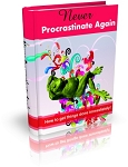 Never Procrastinate Again (MRR)