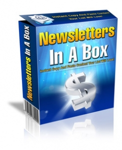 Newsletters In A Box (PLR)