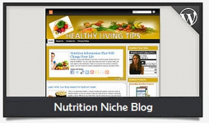 Nutrition Niche Blog Wordpress Theme (PUO)
