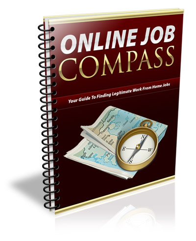 Online Job Compass - Work At Home (PLR)