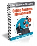 Online Business Management PLR Newsletter (PLR/MRR)