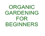 Organic Gardening For Beginners (PLR / MRR)