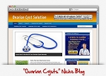 Ovarian Cysts Niche Blog (PLR)
