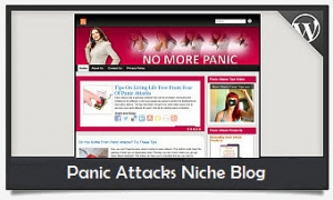 Panic Attacks Niche Blog Wordpress Theme (PUO)