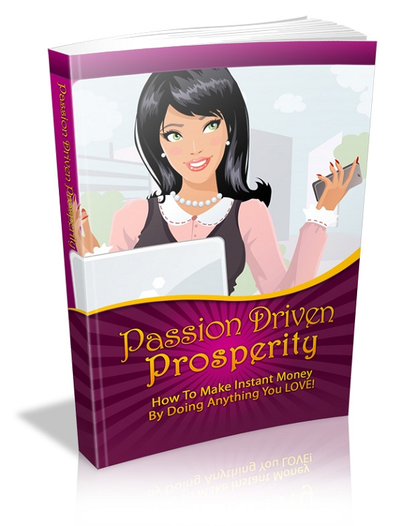 Passion Driven Prosperity (PLR / MRR)