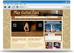 Play Guitar Fast Blog Theme PUO