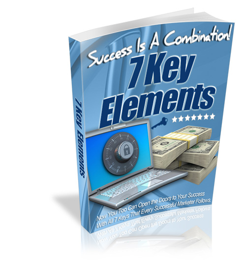 7 Key Elements to Online Success (PLR / MRR)