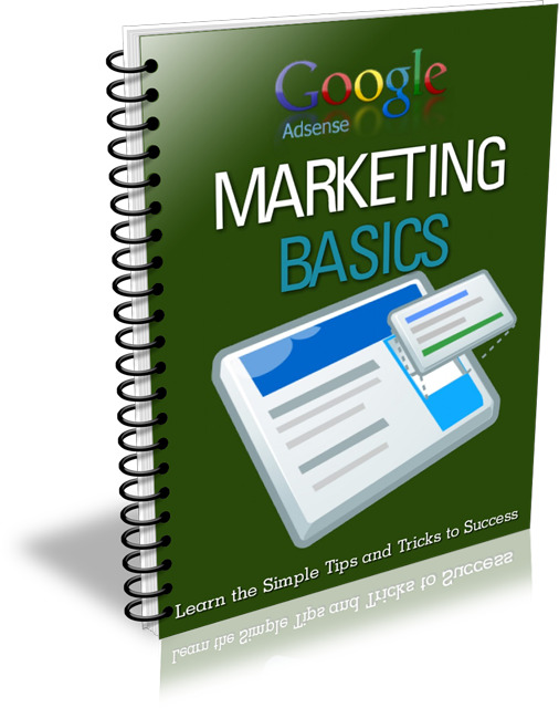 Google AdSense Marketing Basics (PLR / MRR)