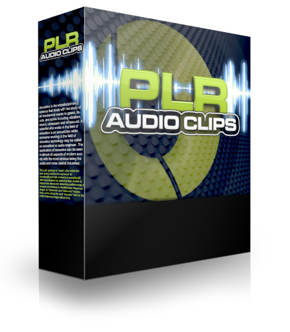 PLR Audio Clips 2 (PLR / MRR)