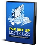The PLR Set Up Masterclass (RR)