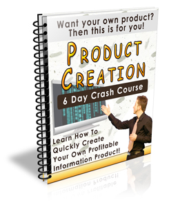 Product Creation Crash Course (PLR / MRR)