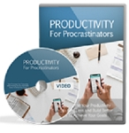 Productivity For Procrastinators (PLR/MRR)