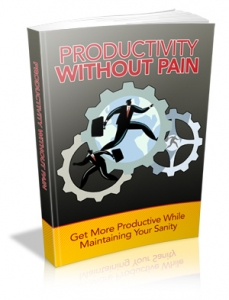 Productivity Without Pain (MRR)