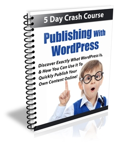 Publishing With WordPress (PLR)