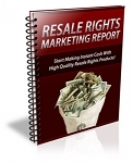 Resale Rights Marketing Report - PLR
