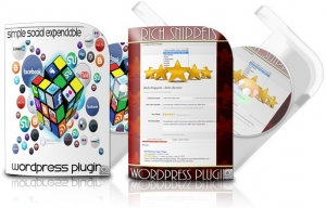 Rich Snippets and Simple Social Expandable - Wordpress Plugins (PLR / MRR)