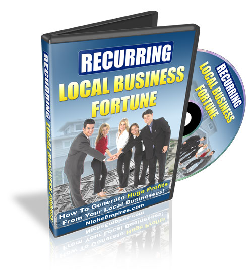 Recurring Local Business Fortune (PLR / MRR)