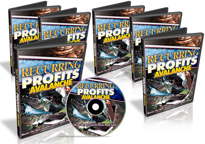 Recurring Profits Avalanche - Video Series (PLR / MRR)