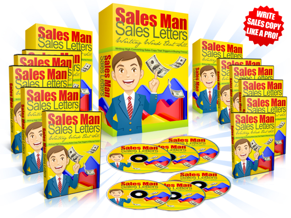 Sales Man Sales Letters - Video Series (MRR)