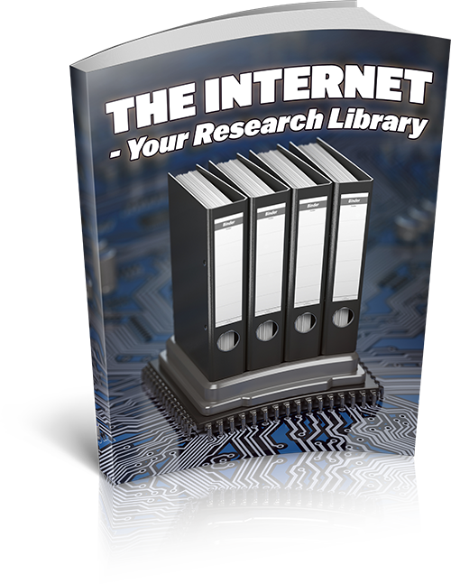 The Internet - Your Research Library (MRR)