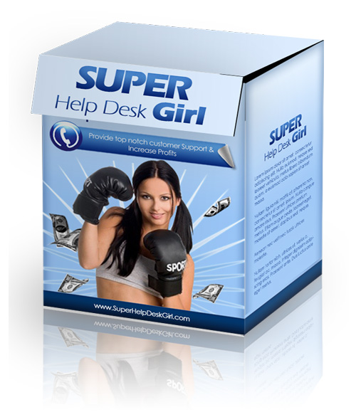 Super Help Desk Girl