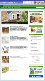 Shed Plans Blog PLR (MRR)