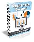 Simple Sales Boosters - PLR Newsletter (PLR/MRR)