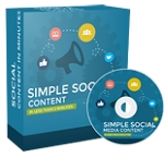 Simple Social Media Content (PLR/MRR)