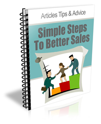 Simple Steps To Better Sales (PLR)