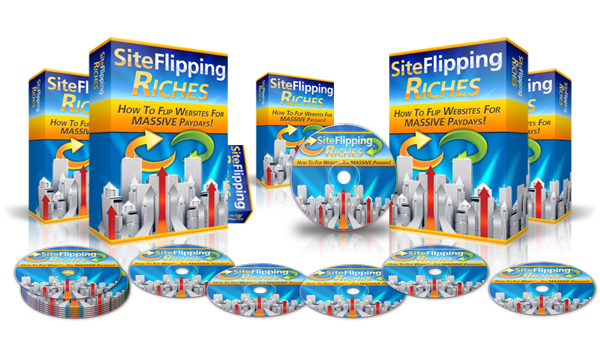 Site Flipping Riches - Video Series (PLR / MRR)