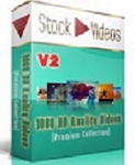 Backgrounds 5 - 1080 Stock Videos V2 (PLR / MRR)