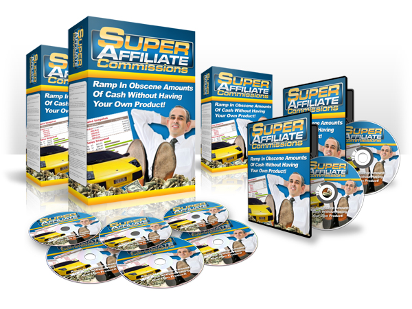 Super Affiliate Commissions - Video Series (MRR)