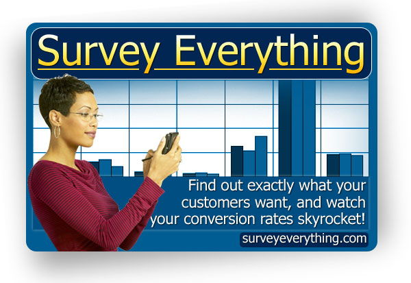Survey Everything (PLR / MRR)