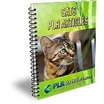 25 Cats PLR Articles (PLR / MRR)