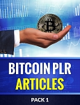 Bitcoin PLR Articles - Pack 1 (PLR / MRR)