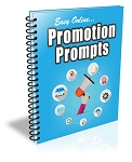 Easy Online Promotion Prompts PLR Newsletter