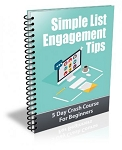 Simple List Engagement Tips PLR Newsletter (PLR / MRR)