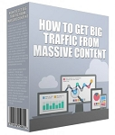 Get Big Traffic From Massive Content (PLR / MRR)