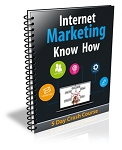 Internet Marketing Know How PLR Newsletter (PLR / MRR)