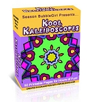Kool Kaleidescopes Coloring Book (PLR / MRR)