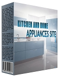 Kitchen and Home Appliance Review Website - PLR