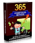 365 Power Sales Methods (PLR / MRR)