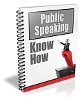 Public Speaking Know How PLR Newsletter (PLR / MRR)