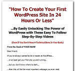 Wordpress Basics Videos (PLR / MRR)